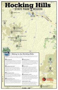 map of hocking hills hiking trails